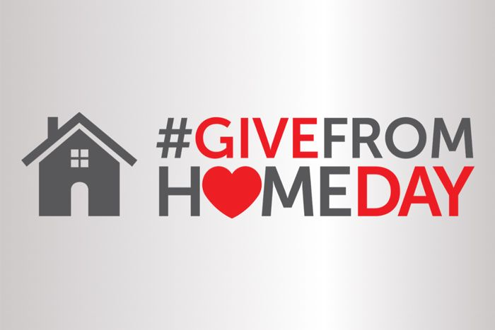 #GiveFromHomeDay